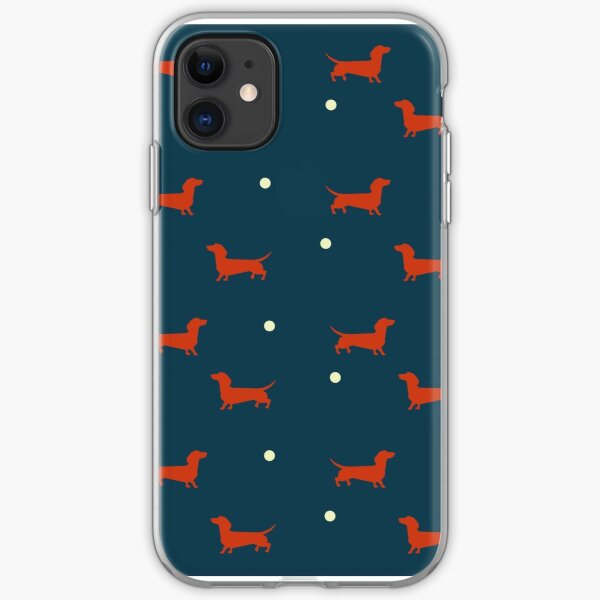 Dachshunds Delight iPhone Soft Case