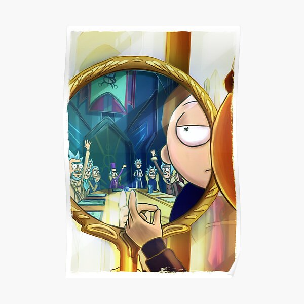 Evil Mort - Rick and Morty™ Poster