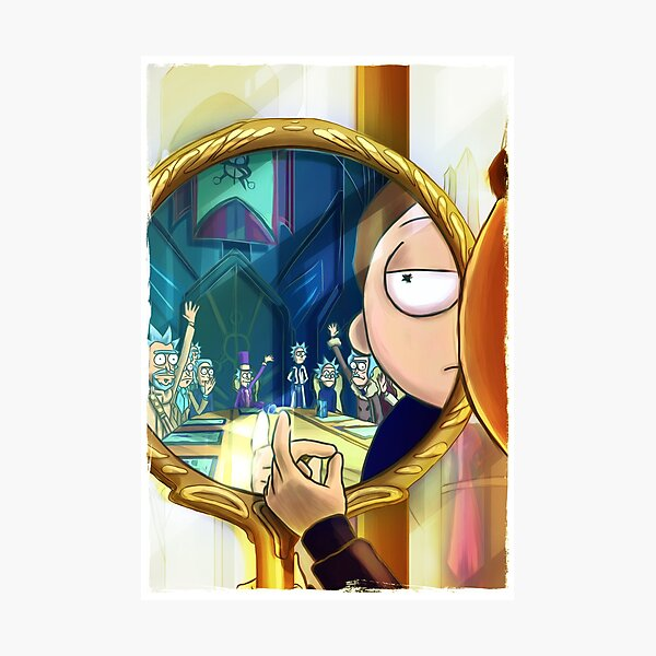 Evil Mort - Rick and Morty™ Photographic Print