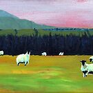 Evening Sheep (Ireland) by eolai