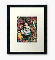 Alice in Wonder Framed Print