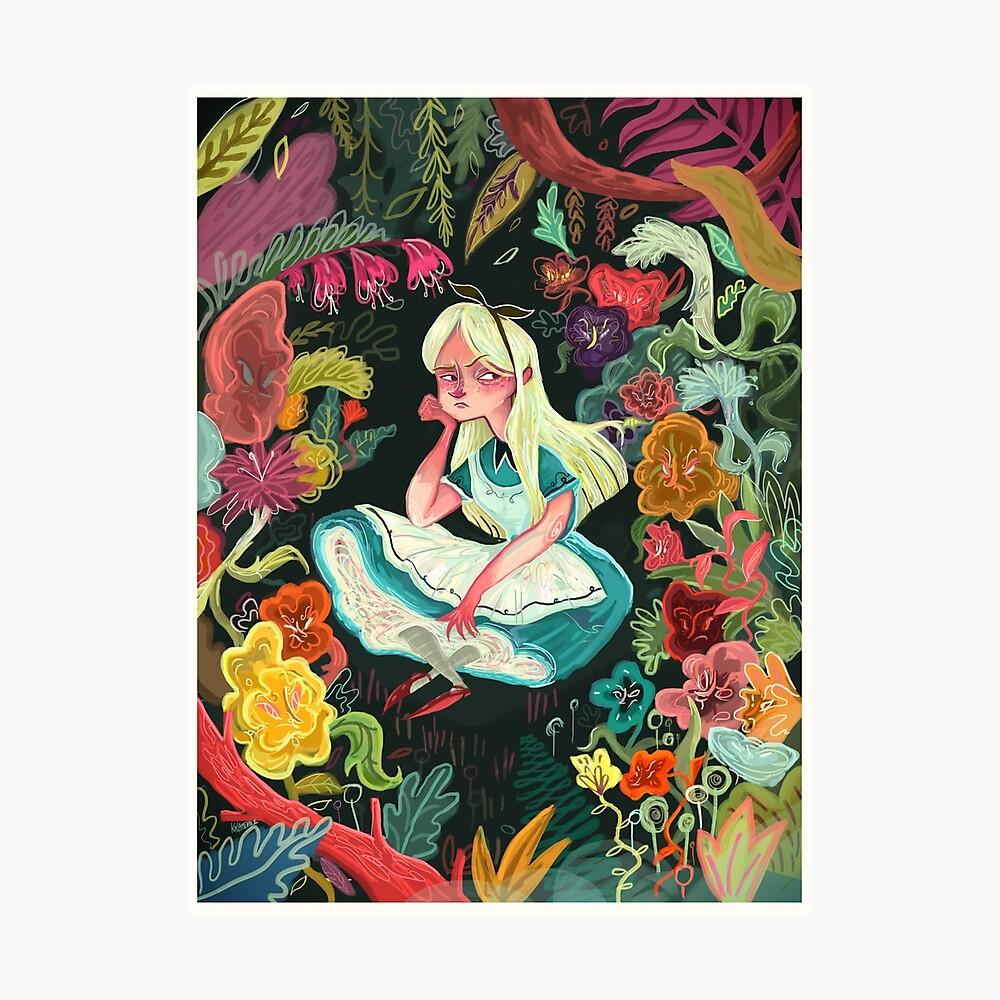 Alice in Wonder Fotodruck