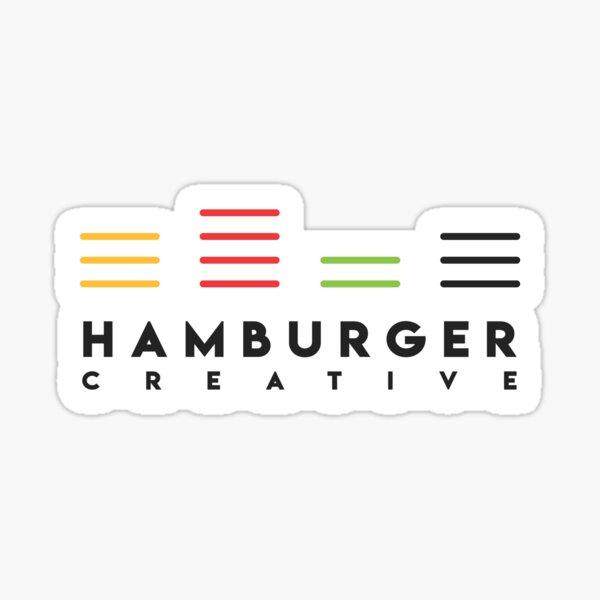 Hamburger Color Change Sticker