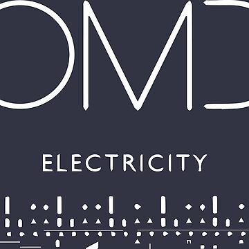 OMD Electricity 80s Retro Faded Vintage 1980s Pop by neonfuture