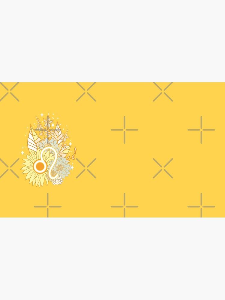 Leo Flowers - GOLD by VenusandMoon