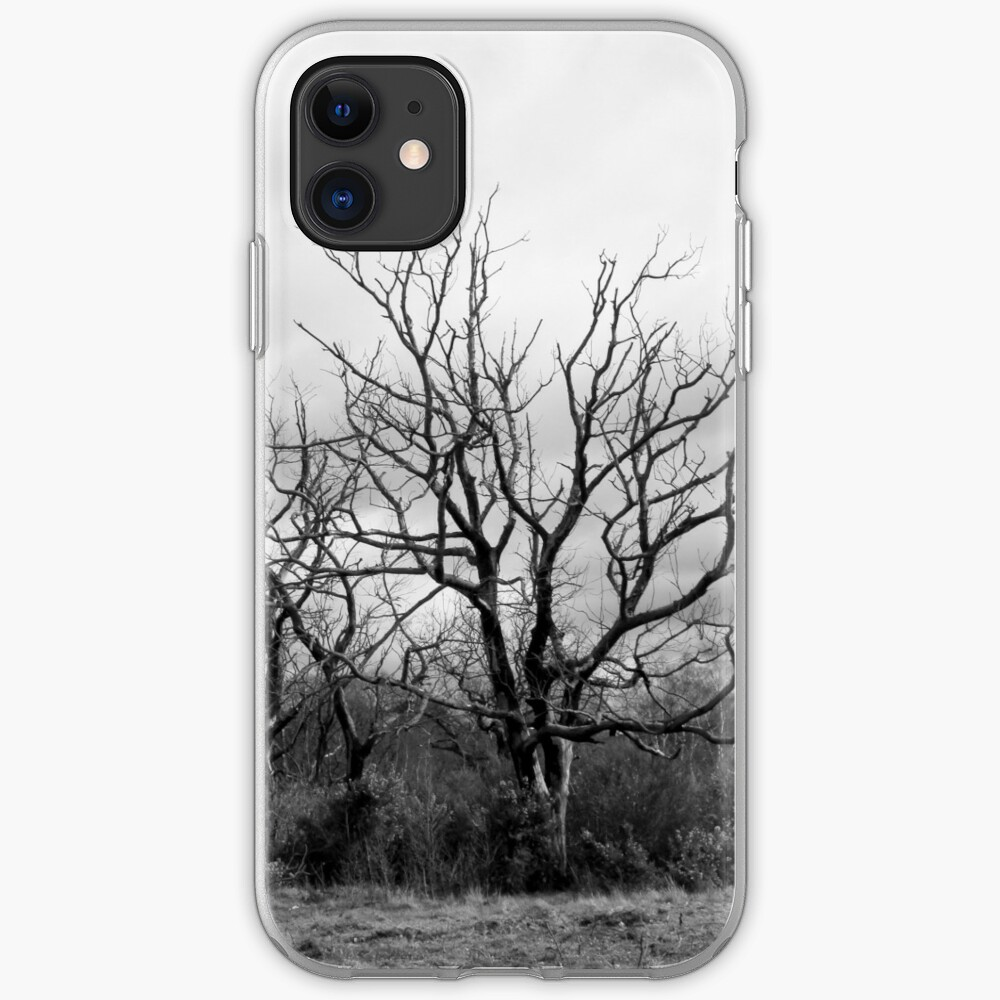 Burnt Trees iPhone Case & Cover
