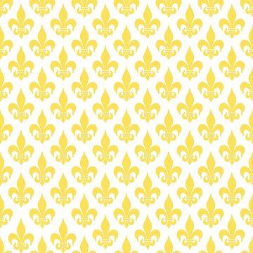 Fleur-de-Lis: Yellow by MilitaryCandA