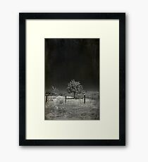 I Walk This Lonely Road Framed Print