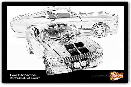 Gone In 60 Seconds - 1967 Shelby Mustang GT500\