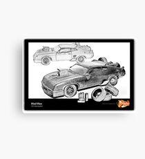 Mad Max -V8 Interceptor Canvas Print
