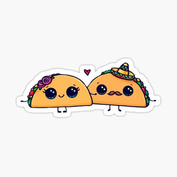 Taco-Liebe Sticker
