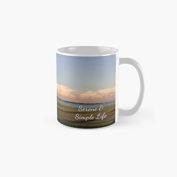 Serene and Simple Life signature mug Classic Mug