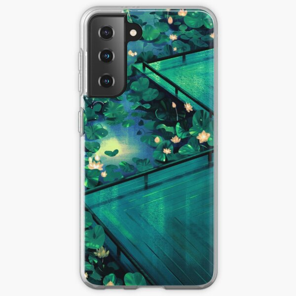 Moonlight in the Lotus pond Samsung Galaxy Soft Case