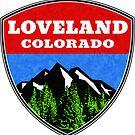 Loveland Colorado  by MyHandmadeSigns