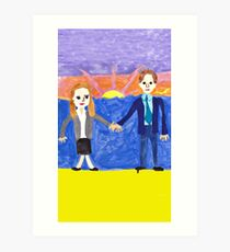 The Wedding Gift Art Print