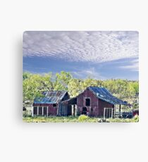 Days of Old Canvas Print