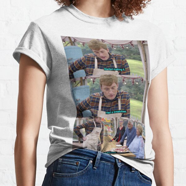 James Acaster Great British Bake Off  Classic T-Shirt