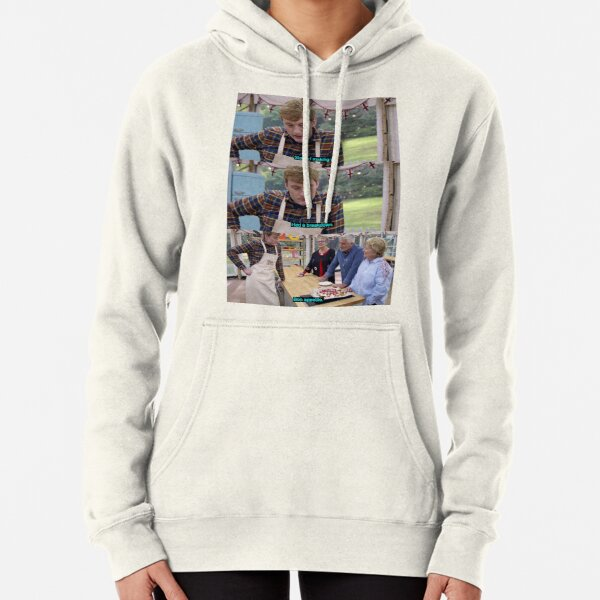 James Acaster Great British Bake Off  Pullover Hoodie