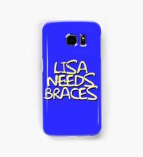 Lisa Needs Braces Samsung Galaxy Case/Skin