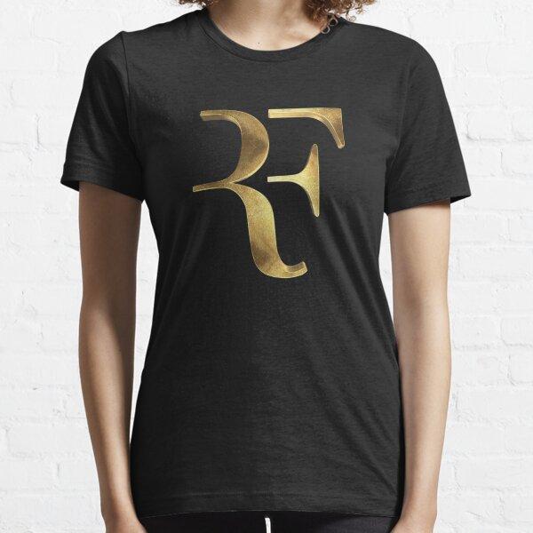 Roger Federer est le plus grand symbole RF en or T-shirt essentiel
