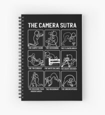 Funny Camera Sutra Gift design Spiral Notebook