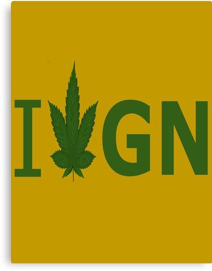 I Love GN by Ganjastan