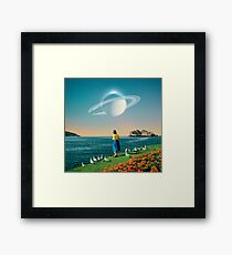 Watching Planets Framed Print
