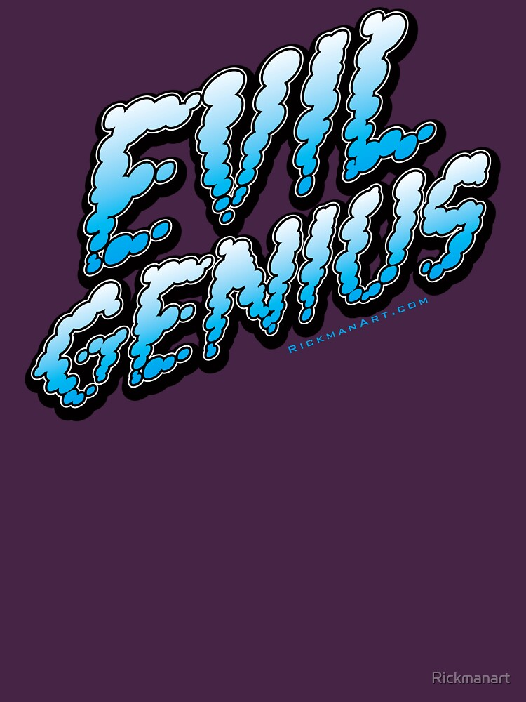 Evil Genius by Rickmanart