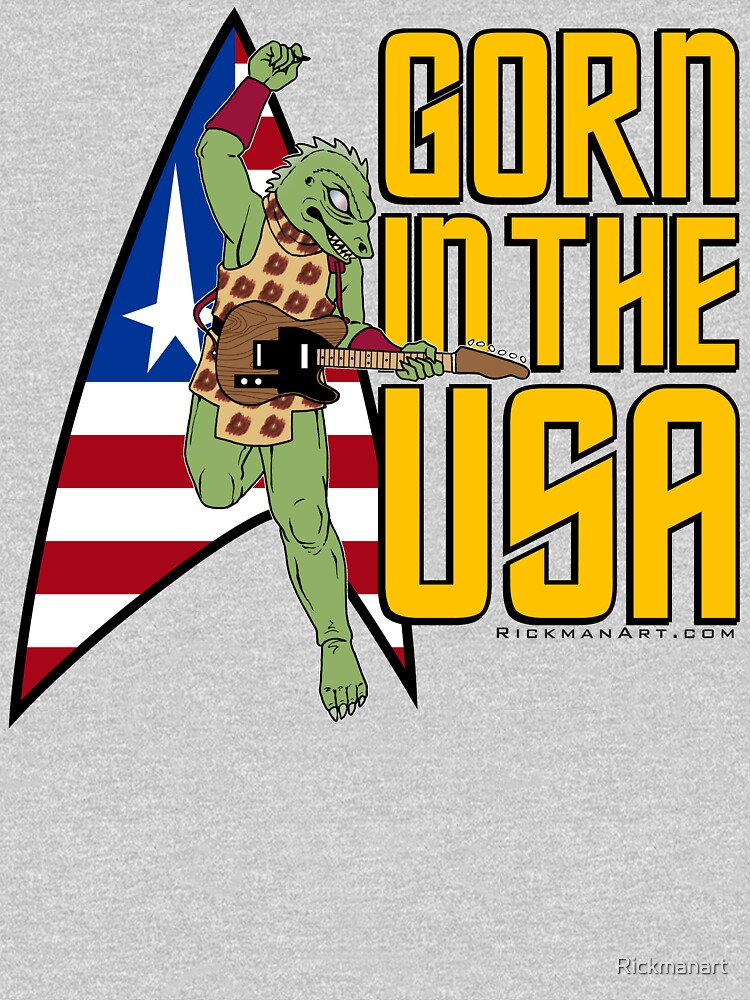 Gorn in the USA by Rickmanart