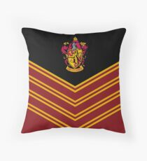 House  School of Witchcraft and Wizardry Throw Pillow