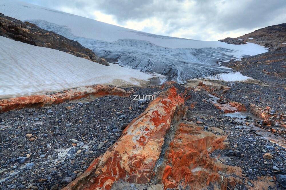 Wapta icefield by zumi