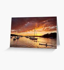 Balmoral Sunrise Greeting Card