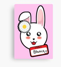 Bianca The Bunny Canvas Print