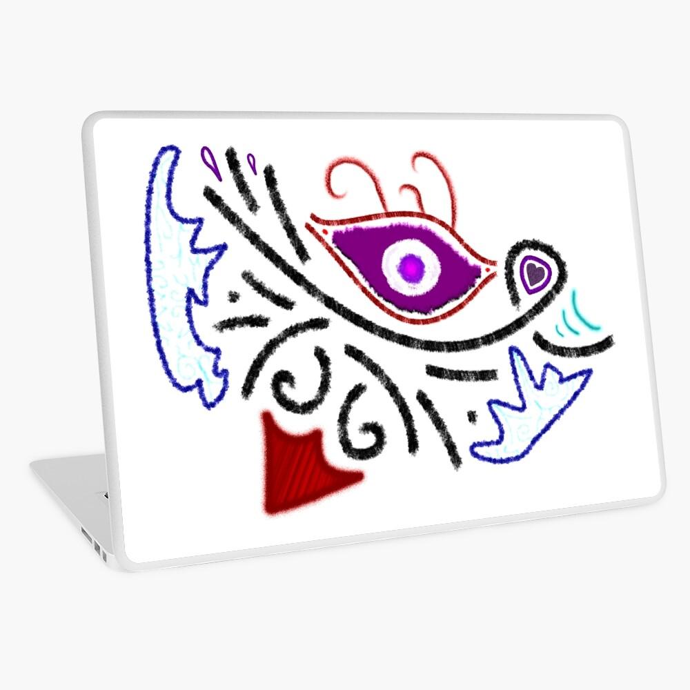 Merch #1 -- Rustic Tribal Cyclops Insignia Laptop Skin