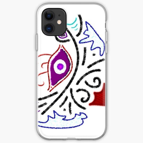 Merch #1 -- Rustic Tribal Cyclops Insignia iPhone Soft Case