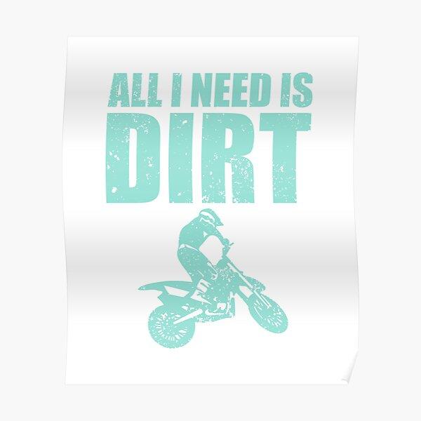 cest de la terre I Moto Motocross T-Shirt Tout ce dont jai besoin