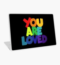 you are loved Laptop Skin