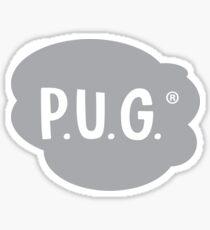 Pegatina DOGUILLO. Logotipo de Inc.