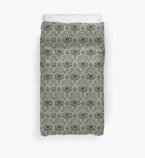 The Haunted Mansion Wallpaper Duvet Cover