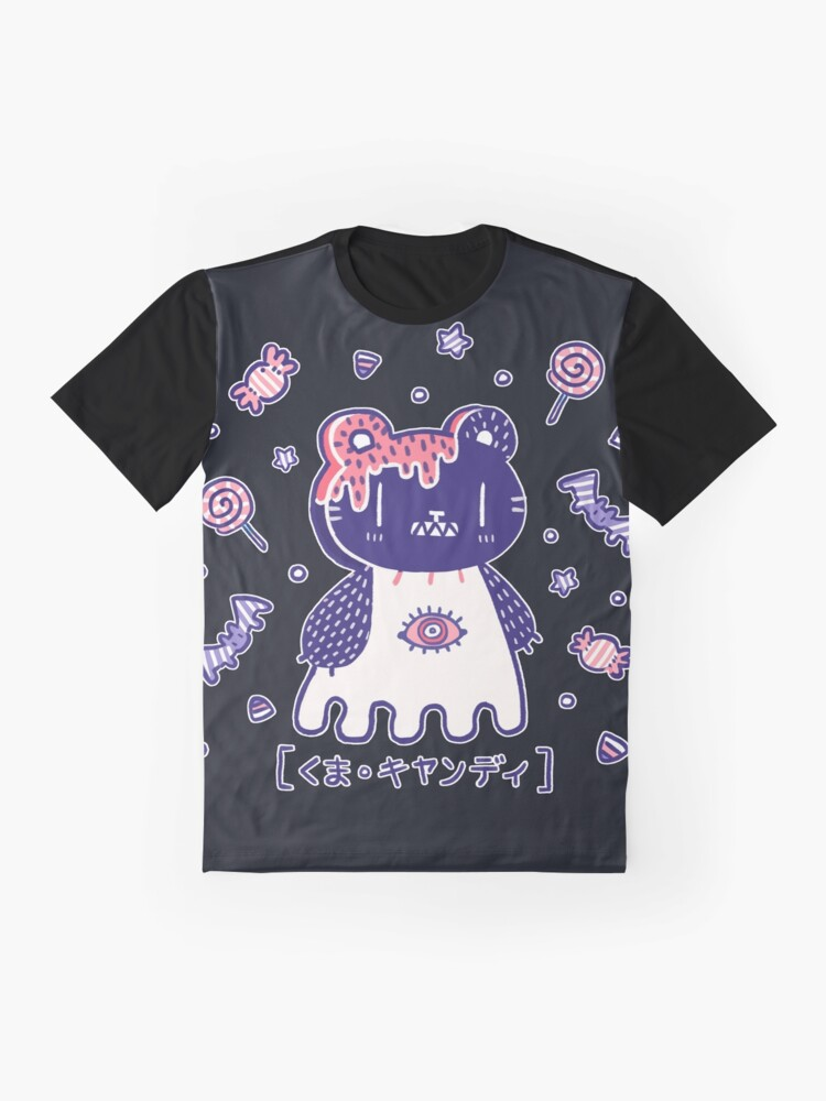 Alternate view of Candy Bear  Graphic T-Shirt