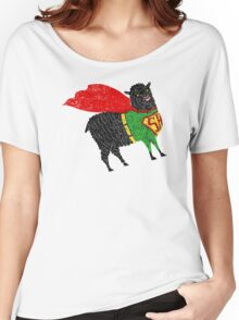 Superhero  Sheep Women's Relaxed Fit T-Shirt