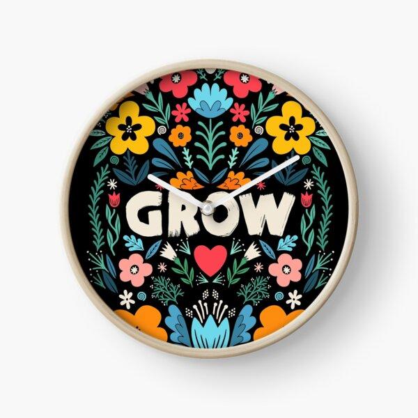 grow garden Clock