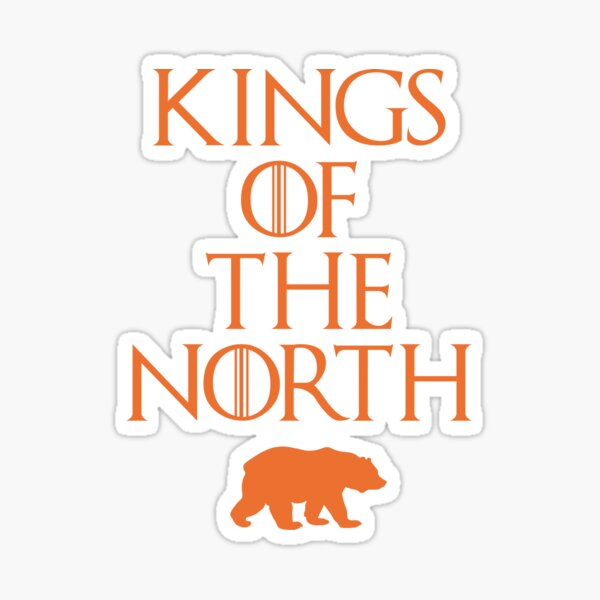 Kings of The North - Chicago Bears Sticker