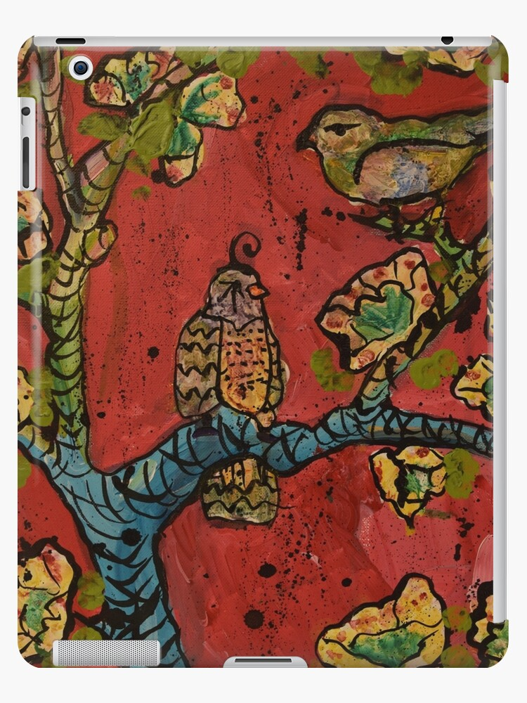 Birds on Branches by Natalie Weinberg