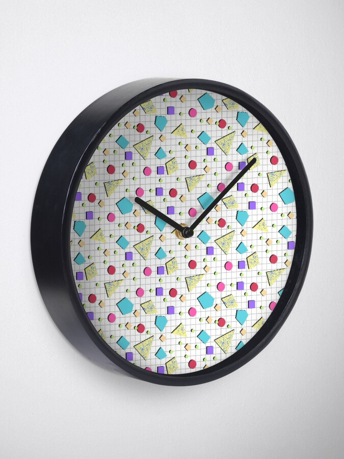 Alternate view of Pasteretro Pixel Pattern Clock