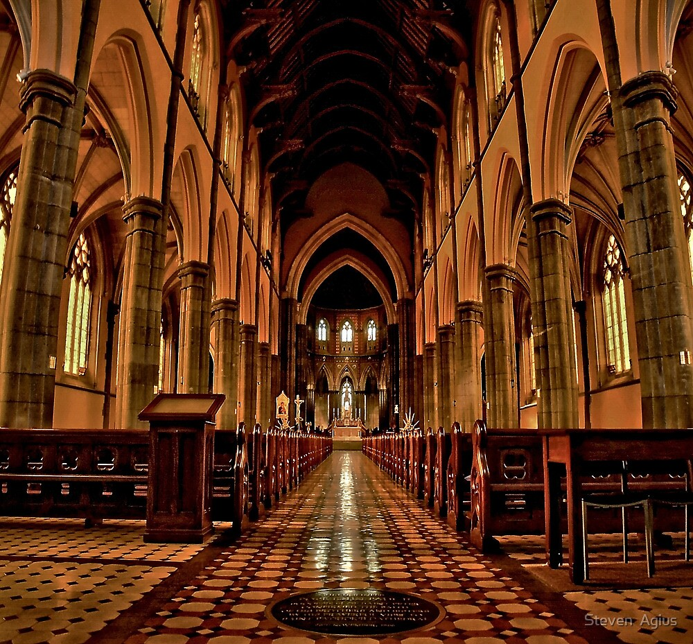 Cathedral #1 by Steven  Agius