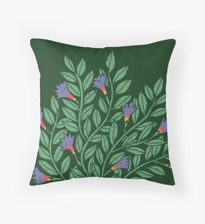A Cup of Tea (Jasmine) Throw Pillow