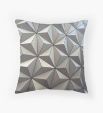 Spaceship Earth, up close Throw Pillow