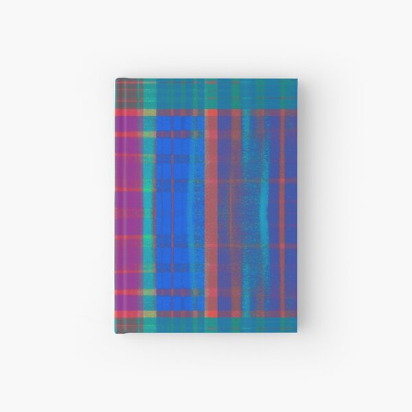 Teal Plaid Hardcover Journal