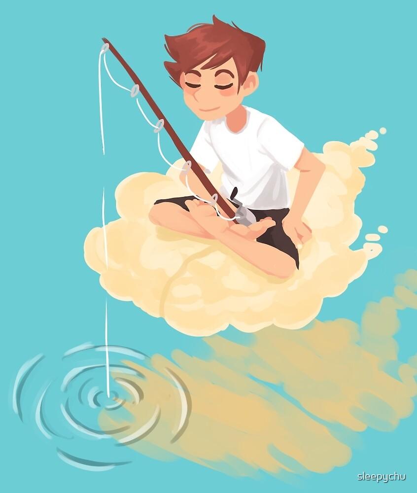 Cloud Fishing by sleepychu
